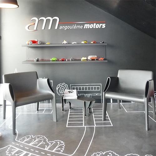 Angoulme Motors  Nathalie Manicot  Architecte DIntrieur Et