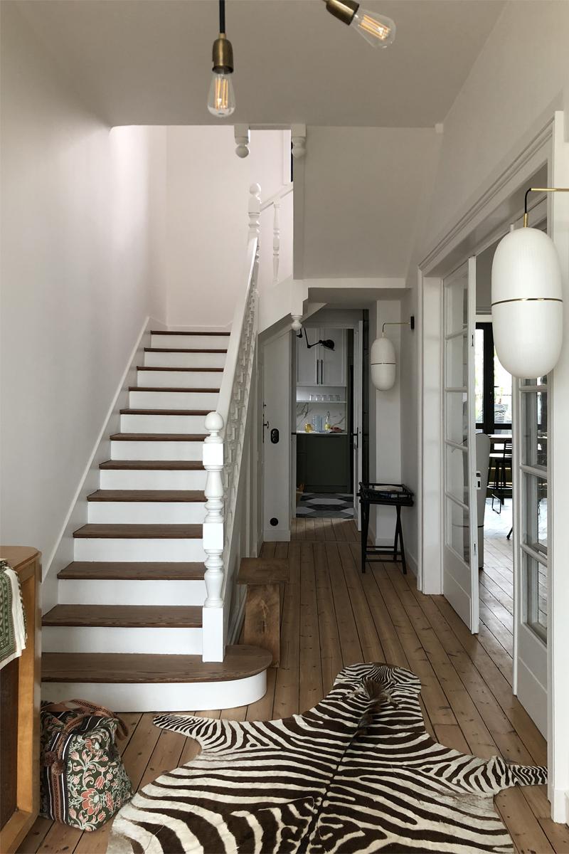 Rénovation d'une villa
