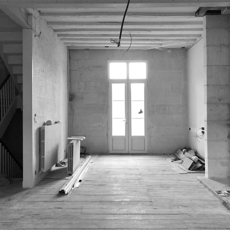 Aménagement d'un espace de vie, Angoulême (Charente)