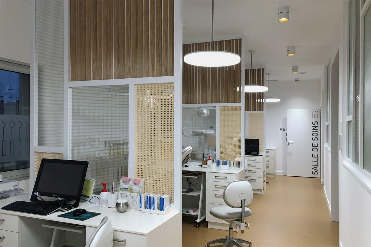 Aménagement d'un cabinet d'orthodontie